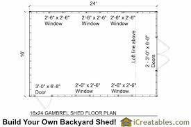 12x16 Gambrel Shed Kits by 12x16 Gambrel Barn Shed Plans Jump To Next Level