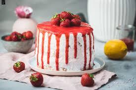 erdbeer sahne torte fräulein meer backt