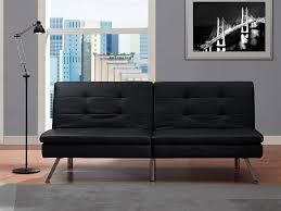 Walmart Black Futon Sofa by Amazon Com Dhp Chelsea Convertible Futon Kitchen U0026 Dining