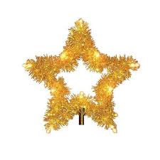 Tree Topper Gold Star