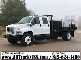 100 Mechanics Truck 2005 GMC C7500 TOPKICK CREW CAB CAT C7 DIESEL 3200 Lb CRANE