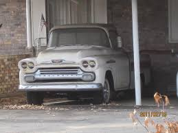 1958 Chevy Apache Panel Truck For Sale, Craigslist Kansas City Cars ...
