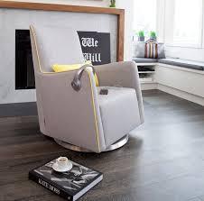 Swivel Chair Glides For Wood Floors by Modern Grazia Swivel Glider Nursery Furniture By Monte Design