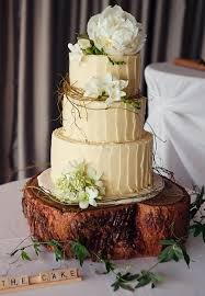 Woodland Themed Wedding Cakes