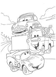55 Disney Cars Coloring Pages 3045 Via