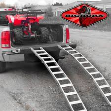 Aluminum Tri-Fold Lawnmower ATV Truck Loading Ramps Arched Pair ... Loading Ramps For Box Trucks Best Truck Resource Guangzhou Hanmoke Unloading Container Load Ramp With Cheap Recovery Find Deals On Line Hd Motorcycle Atv Amazoncom Alinum Trailer Car Truck 1 Pair 2 Pickup 1500 Lbs Capacity Trifold Bolton Semitrailer Storage Brackets Discount 10 5000 Lb With Hook Five Star Bifold 1500lb Better Built Extended
