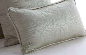 Decorative Lumbar Pillows For Bed by Add A Touch Of Luxury With Silk Bed Skirts U0026 Quilted Silk Accent