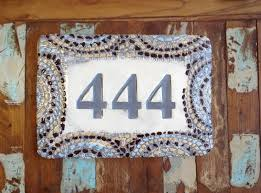 house number tiles rhode island pottery painting studio by