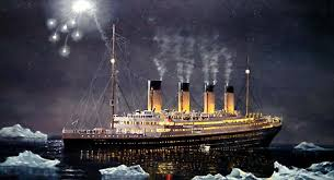 Titanic Sinking Animation National Geographic by A Render Of Titanic Her Distress Rockets Seen Fired In The