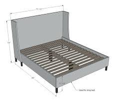 bed frame platform bed frame king premier platform bed frame