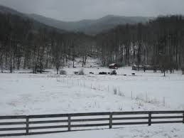 Johnson City TN in the snow BEAUTIFUL Nature