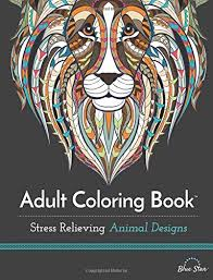 Get Adult Coloring Book Stress Relieving Animal Designs