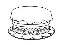 birthday cake coloring pages preschool how to draw birthday cake coloring page with no candles
