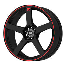 100 Tires And Wheels For Trucks Amazoncom Motegi Racing MR116 Matte Black Finish Wheel With Red
