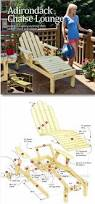 Folding Adirondack Chair Woodworking Plans by Reclining Sun Lounger Plans Outdoor Furniture Plans And Projects