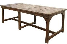 table de cuisine vintage table de cuisine ancienne en bois rutistica home solutions