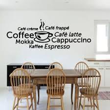 details zu wandtattoo küche kaffee cappuccino espresso esszimmer wanddekoration wandaufkleb