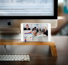 Imac Monitor Desk Mount by Natural Bamboo Imac Monitor Stand Riser Xl Office Desktop Organizer