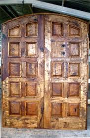 Reclaimed Barn Wood Rustic Style Double Entry Doors For Sale Phoenix