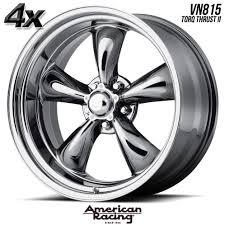 4 American Racing 815 T.Thrust II 17