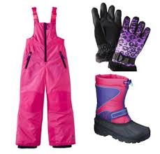 For Ski Trips Or Just Playing In The Snow Dress Her Up Cute Clothes Fun Colors Youll Adore This C9 By Champion Kids Bib Hot Pink