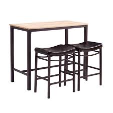 Black Kitchen Table Set Target by Furniture Fascinating Addison White And Cherry Wood Pub Table