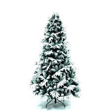 8 Slim Tree 7 Ft Flocked Slimline Lit Snowy Snow Christmas Skinny