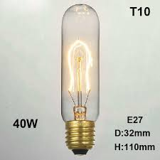 retro vintage 40w edison light bulb chandelier e27 220v l
