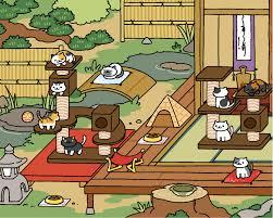 Neko Atsume Update Zen Style Yard Original