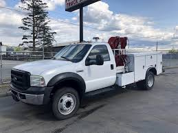2007 Ford F-450 Service / Utility Truck For Sale, 154,052 Miles ...