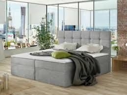 details zu boxspringbett lene doppelbett polsterbett mit matratze modern schlafzimmer