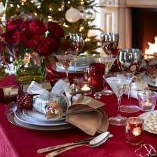 5 Ideas For Christmas Table Settings Christmas Ideas