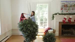 Frontgate Christmas Tree Storage Bag Instructions by Disassembling U0026 Storing Your Flip Tree From Balsam Hill Youtube