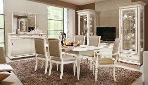 oskar wohnzimmer möbelset barock rokoko massivholzmöbel weiß mit dunkler patina