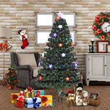 6ft Christmas Tree Fibre Optic by Multi Color Light Christmas Tree Christmas Lights Decoration