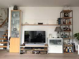 sehr schöne und flexibe tv und wohnwand