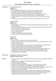 Download Rad Tech Resume Sample As Image File