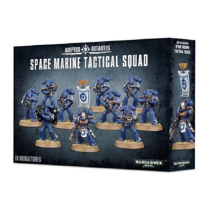 Warhammer Space Marine Tactical Squad