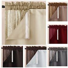 Insulated Window Curtain Liner by Blackout Liner Curtains Drapes U0026 Valances Ebay