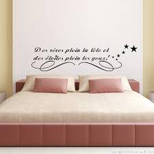 stickers citations chambre sticker des rêves plein la tête stickers muraux citations
