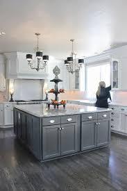 pleasurable kitchen floor tile ideas with grey cabinets strikingly