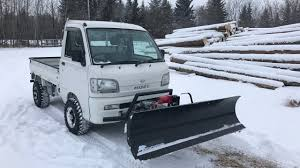 100 Hijet Mini Truck With Upgrades And Snow Plow YouTube