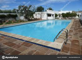 100 Infinity Swimming Outside Infinity Swimming Pool In A Luxury Villa Stock Editorial
