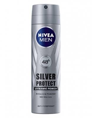 Nivea Men Silver Protect Anti-perspirant Deodorant Spray - 150ml