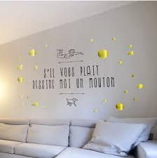 papier peint chambre bébé chambre bebe papier peint 13 sticker salon dessine moi un
