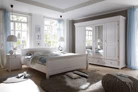 vaja schlafzimmer landhaussstil kiefer weiß gewachst 4 tlg 180x200