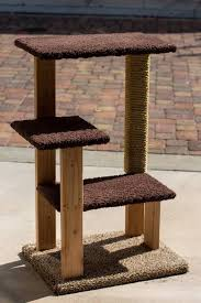 wood cat tower plans pdf plans