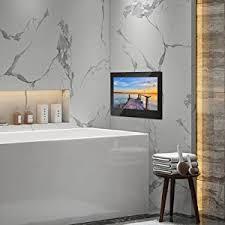 haocrown led smart tv für badezimmer ip66 wasserdichter