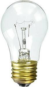 ge 15206 12 40 watt appliance light a15 light bulb 12 pack
