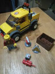 100 Lego Mining Truck 4200 City 4x4 Toys Games Bricks Figurines On